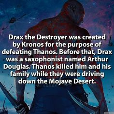 Dead the Destroyer facts Guardians of the Galaxy #Marvel