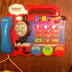 Thomas The Train Friends Phone Electronic Learning Educational Toy Vtech | eBay