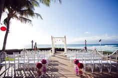 This will be the wedding scene. We will be married by the beach
