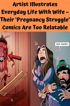 Any couple who has had difficulty conceiving will find these illustrations hitting very close to home.