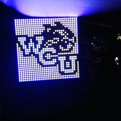 So what all can you do with an LED array? Lots of stuff. But if it were me I would write a script to convert a picture into a 32x32 pixel bit-map throw it on an Arduino and upload it to that bad boy.   #wcu #ledarray #arduino #westerncarolina #westerncarolinauniversity #programming #coding #adafruit #sparkfun by mtking2