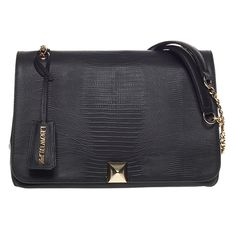 Loyal black gold bag from Leowulff spring/summer 2015 collection!  #leowulff #black #bag #jumbo #crossbody