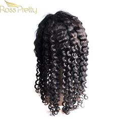Quality Brazilian Remy Hair Lace Frontal Wigs Ross Pretty Hair Brazilian Deep Wave Lace Wigs 150% Density Super Deal Price Brazilian Deep Wave, Super Deal, Lace Frontal, Remy Hair, Hair Type, Pretty Hairstyles, Lace Wigs, Dreadlocks, Color
