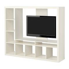 EXPEDIT Módulo de arrumação/móvel de TV - branco - IKEA