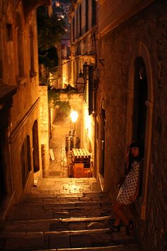Back streets of Hvar