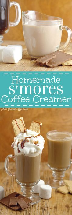 Homemade Smores Coffee Creamer – a tasty sweet homemade coffee creamer recipe, perfect for a Summer morning breakfast. More from my siteHomemade Coffee Creamer RecipesHomemade Sweet Cream Coffee CreamerHomemade Vanilla Creamer Recipe for Coffee Homemade Coffee Creamer, Coffee Creamer Recipe, Iced Coffee, Coffee Drinks, Coffee Scrub, Starbucks Coffee, Coffee Tables, Coffee Tray, Coffee Enema