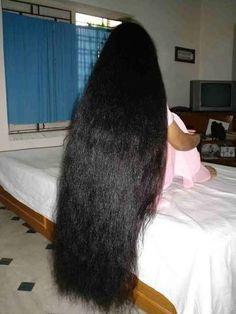 Very Long Hair Women - Yahoo Image Search Results Long Silky Hair, Long Dark Hair, Super Long Hair, Thick Hair, Indian Long Hair Braid, Braids For Long Hair, Loose Hairstyles, Indian Hairstyles, Braided Hairstyles