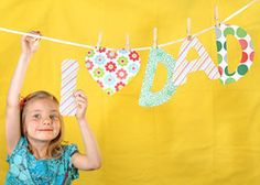 father's day picture idea...if Honey could keep the letters out of her mouth.