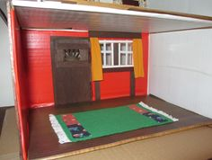 Midsomer cottage - first floor with hangings and carpet