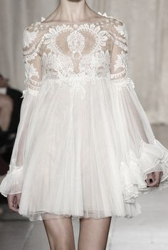 If I ever got married-which, chances are slim-but if I did, this would definitely be my dress.