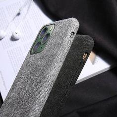 Stoff überzogene Soft Hülle/Case für IPhone 11, 11 Pro, 11 Pro Max, IP – ZITOCASES Iphone Se, Iphone 7 Cases, Silicone Phone Case, Accessories