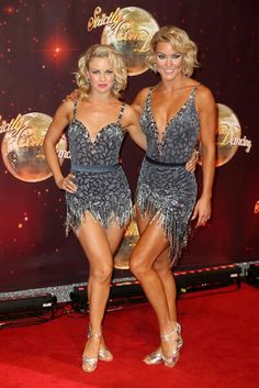 Joanne Clifton and Natalie Lowe Strictly Dancers, Strictly Come Dancing, Joanne Clifton, Lovely Legs, Norma Jeane, Dancing With The Stars, Lowes, Sexy Women, Product Launch