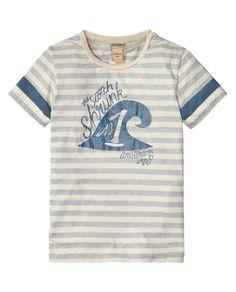 Logo tee | T-shirt s/s | Boys Clothing at Scotch & Soda