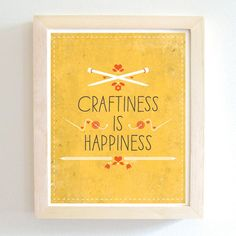 Craftiness Is Happiness ~ Tiny Cub