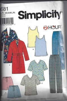 Simplicity 0681 or 9330 Pattern for Misses' by VictorianWardrobe, $2.00