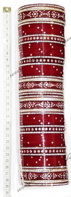 http://www.indianjewellerystore.co.uk/Bridal-Churas/UGRC0676.htm