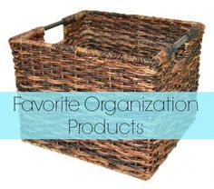 Favorite organizing products - Ask Anna