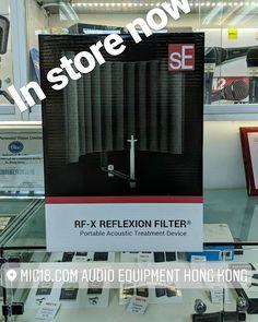 SE Electronics RF-X filter  #個人錄音  #屋企錄音 #錄音設備 #香港 #hongkong #自彈自唱  #hongkongmusician #選購錄音設備