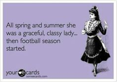 Football moms unite! Now that's the truth!!!