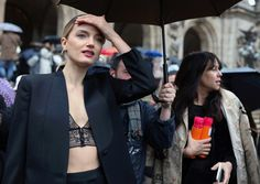Lily Donaldson | Phil Oh Shoots the Best of Paris Street Style