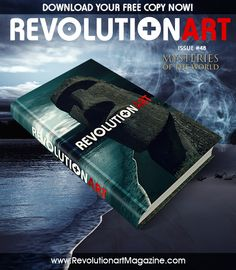 Art , graphic design , photography and visual tendences get your free copy now!  www.revolutionartmagazine.com  #graphicdesign #magazine #art #model