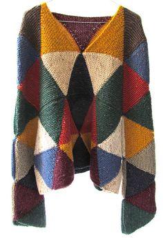 Knitting Kit: Nikki Gabriel Construction Knitting Pattern for CLECKHEATON