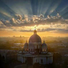 Trinity Cathedral, Saint Petersburg. Russia