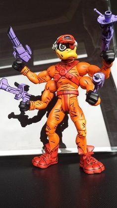 Deadeye duck (Bucky O'Hare) Custom Action Figure