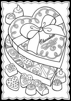 Dover Publications and Dover Books – Classic literature, coloring books, children's books, music books, art books and Doodle Coloring, Mandala Coloring, Coloring Pages For Kids, Coloring Book Pages, Printable Coloring Pages, Candy Images, Valentine Coloring Pages, Dover Publications, Digi Stamps