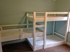 Triple Bunk Bed Pinteres