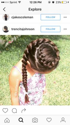 Crown Dutch Braid More - Best Picture For baby girl hairstyles petite fille For Baby Girl Hairstyles, Princess Hairstyles, Up Hairstyles, Pretty Hairstyles, Braided Hairstyles, Hairstyle Ideas, Elsa Hairstyle, Mixed Kids Hairstyles, Childrens Hairstyles