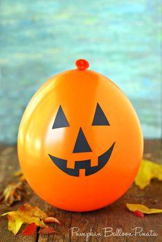 Pumpkin Balloon Piñata
