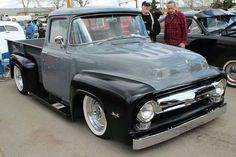 Ford pickup two tone