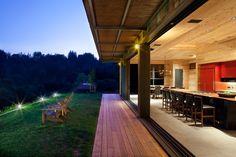 дневник дизайнера: Современный загородный дом от CCS Architecture в горах Санта-Круз, Калифорния