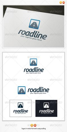 Road Line Logo Template ... app, blue, business, car, community, corporate, drive, guide, line, location, locator, logo, logotype, map, navigation, net, network, road, route, search, service, speed, street, system, traffic, trip, way