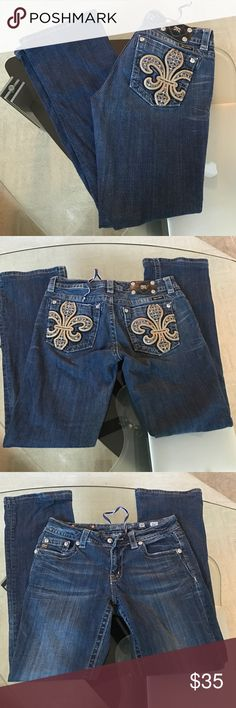 Missing Me jeans Good used condition Miss  Me jeans size 30 inseam 31 Miss Me Jeans Boot Cut