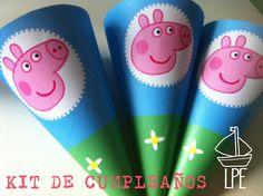 LPE: Decoración y animación cumple de LUISA - Peppa Pig
