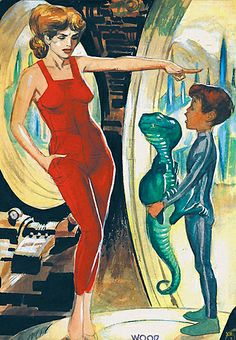 Mike Lynch Cartoons: Wally Wood and Dave Stevens Science Fiction Art, Pulp Fiction, Estilo Pin Up Retro, Dave Stevens, Arte Sci Fi, Aliens, 70s Sci Fi Art, Weird Science, Retro Futurism