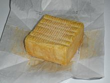 Herve - Herve is one of the most favorite cheeses in Belgium. It has a shape of brick with glossy, orange-brown rind. The taste and flavor of the cheese deepens on the period of ripening. When young, the interior is sweet, with age the flavor becomes spicy.