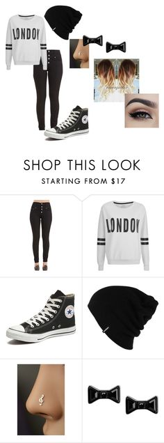 """""""...cute!"""" by emilyskye-i on Polyvore featuring ONLY, Converse, Patagonia and Marc by Marc Jacobs"""
