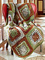 Image of Granny Throw - Free Pattern