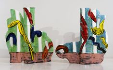 Landsdowne Vases - Betty Woodman - Salon 94