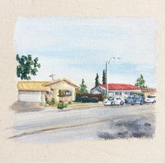 Who else is ready for spring? . . . . #homes #suburbs #california #cali #spring #springtime #pastel #colors #painting #paint #embroidery #embroideryart #thread #threadpainting #crafts #craft #sew