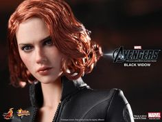 Toys - Black Widow doll