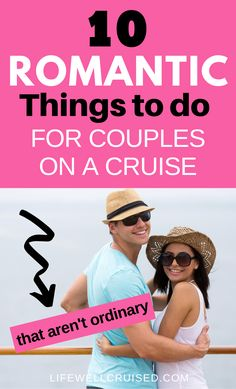 10 most romantic things to do on a cruise. A cruise is one of the most special trips for couples, with so many experiences to do together. From shore excursions to sunsets and more, a cruise vacation is one of the best vacations for couples to do together. #couplescruise #romanticcruise #cruise #cruisevacation #cruiseactivities #romance Cruise Tips, Cruise Travel, Cruise Vacation, Vacation Ideas, Cruise Ship Reviews, Best Cruise Ships, Best Vacations For Couples, Carnival Cruise Ships, Romantic Things To Do
