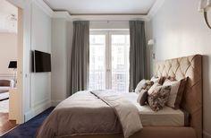 11 маленьких хитростей, которые помогут сэкономить место в спальне | Sweet home