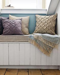 textured pillows sewing diy - so elegant