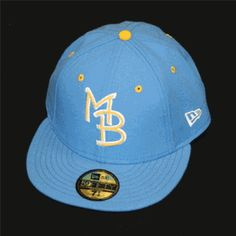 MYRTLE BEACH PELICANS NEW ERA 59/50 GAME CAP