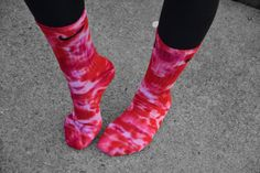 Hey, I found this really awesome Etsy listing at https://www.etsy.com/listing/217988364/valentines-nike-tie-dye-socks