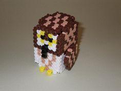 DIY 3D Owl perler beads - Photo tutorial